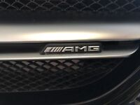 Mercedes-Benz AMG Front Grille Badge-A C E S CLA CLS G A45 E63 X156 W212 205 Uk
