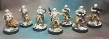 Star wars legion snowtrooper expansion painted wargames