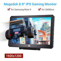 """Magedok 8.9"""" Inch Portable IPS Gaming Monitor for Huawei Mate 20 FPV Display PS4"""