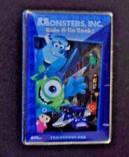 Disney Pins - WDI - Monsters, Inc. Ride & Go Seek! - RARE! LE 300