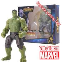 Hulk Marvel Avengers Legends Comic Heroes 7in 18cm Action Figure Kids Toy in Box