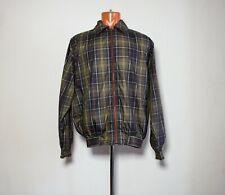 Barbour harrington reversible full plaid jacket M size