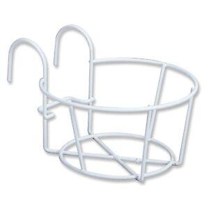 "Amertac HoldAll Flower Pot Holder White #5014W Fits 4""-6"" Pots New"