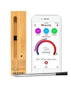 Meater Plus+ Kabelloses  Grill- und BBQ-Thermometer Signalreichweite  50 Meter