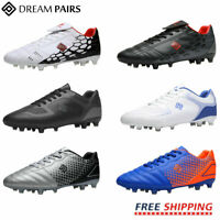 DREAM PAIRS Mens Soccer Cleats Outdoor Football Shoes Firm Ground Soccer Shoes