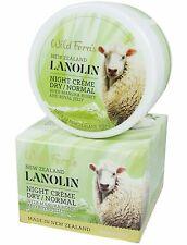 Wild Ferns LANOLINE Nuit Crème SEC / normal peau - avec collagène, Placenta