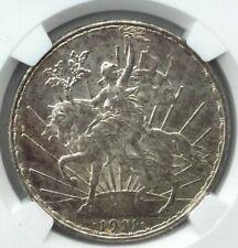 1911 Mexico Peso Caballito Long Ray NGC MS62 HD Video in Description