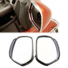 For Honda GL1800 Goldwing 2001-2015 Motorcycle Chrome Visored Mirror Trim