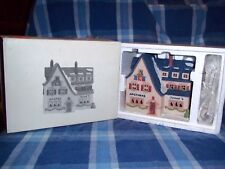 DEPT 56 APOTEK AND TABAK #65404  ALPINE VILLAGE / RETIRED NIB