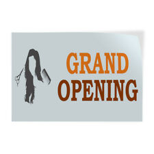 Decal Stickers Grand Opening Hair Saloon Spa Vinyl Store Sign Label Business
