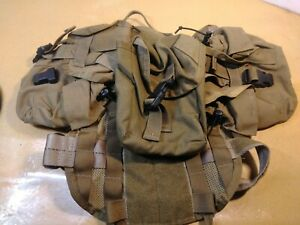 Signature K9 Modular Ultimate Load Bearing Harness Military FDE Tactical w/packs