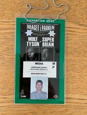 MIKE TYSON vs BRIAN NEILSON -  PRESS PASS