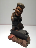 "tom Clark pixie troll elf gnome train coal car stokes ""RARE"""