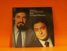 BARTOK - CONCERTO FOR VIOLIN - ZUCKERMAN / METHA CBS PROMO EX VINYL LP RECORD