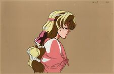 """Escaflowne Production Cel and Drawing anime 1996 Millerna - Big 10.5x16"""""""