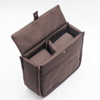 3 Size Waterproof DSLR SLR Camera Insert Bag Padded Partition Lens Pouch Cover