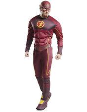 "Flash Mens Costume, X-Large, CHEST 44 - 46"", WAIST 36 - 40"", INSEAM 33"""