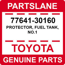 77641-30160 Toyota OEM Genuine PROTECTOR, FUEL TANK, NO.1
