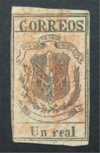 nystamps Dominica Stamp # 24 Used $225   S17x330