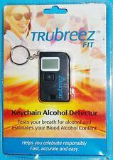 New Sealed Trubreez Fit Keychain Breathalyzer, Portable Breath Alcohol Tester