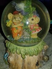 Mouse musical globe