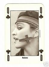 Madonna -  NME Playing Card