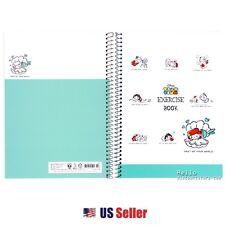 Disney Princess Tsum Tsum Blank B5 Notebook: Green