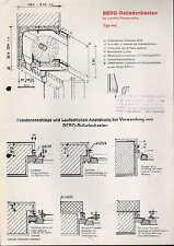 LÜTZELINDEN, Prospekt um 1960, Gebrüder Allendörfer GmbH BERO-Rolladenkasten