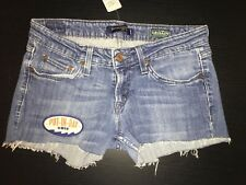 "Levi's Legacy 524 Too SuperlowCut-Off Denim ""PUT-IN-BAY OHIO"" Shorts Size 5"