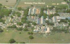 New Listing Webster Flea Market Postcard Aerial View 1980 S Sumter County Florida