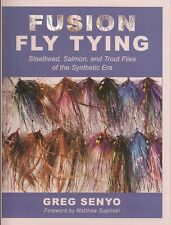 SENYO FLYFISHING BOOK FUSION FLY TYING SYNTHETIC SALMON AND TROUT FLIES bargain