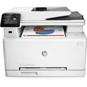 HP Colour LaserJet Pro MFP M277dw A4 Printer WIRELESS LowCountUnder10K WARRANTY