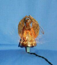 Hallmark 1988 Heavenly Glow Brass Angel Christmas Ornament