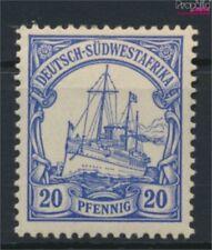 Allemand-sud-ouest de l'afrique 14 avec charnière 1900 Expé (9120279