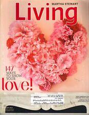 MARTHA STEWART Living Magazine 2/12 147 WAYS TO SHOW YOUR LOVE