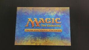 MTG Magic The Gathering From The Vault: Twenty Mint Unopened Jace Rare