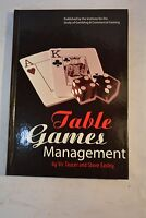 Table Games Management Taucer and Steve Easley Casino Gambling Supervision 2003