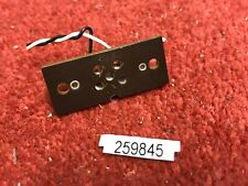 1 vintage TANNOY 5 pin 4 pin speaker socket Silver Red Gold HPD (845)