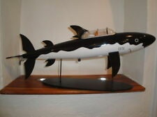 Extremely Rare! Tintin The Shark Submarine Big Figurine LE of 3000 Statue