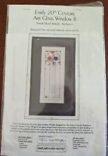 "Heartland House Designs ""Art Glass Window Ii"" Cross Stitch Kit"