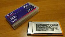 SONY SXS-1 32GB  SBS-32G1A per PXW , PDW , PMW , XDS , Ex  #eBayDonaPerTe