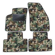 Armee-Tarnungs Autoteppich Autofußmatten Auto-Matten für Volvo C30 ab 2007