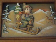 """Hummel 1986. Anri Music Box """" Ride Into Christmas"""" R5147"""