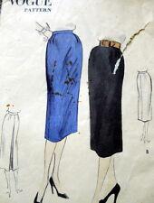 LOVELY VTG 1950s SKIRT VOGUE Sewing Pattern WAIST 26