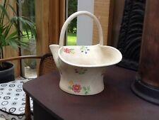 Radford Pottery Art Deco Hand Painted Pretty Vintage Basket Floral design 1930s