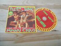 CD Ethno Manu Chao - Mister Bobby (1 Song) Promo VIRGIN / RADIO BEMBA