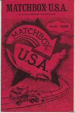 1982 MATCHBOX U.S.A Club Bulletin Collector's Zine Paul McCartney AD!
