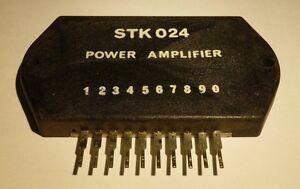 STK024 / POWER AMPLIFIER / 1 PIECE (qzty)