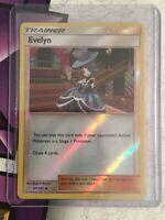 Evelyn - 141/181 - Uncommon - Reverse Holo Pokemon SM9 Team Up M/NM English