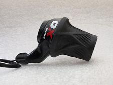 Sram X0 Left Hand (3 speed) Grip-Shift/ Twist-Shift for 3 x10 Spd, Black/Red